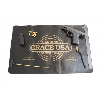 Grace USA Pistol Cleaning Mat Hero