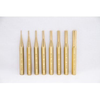 GRACE USA  Brass Pin Punch Set Hero