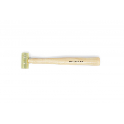 GRACE USA 4 Ounce Brass Hammer Hero