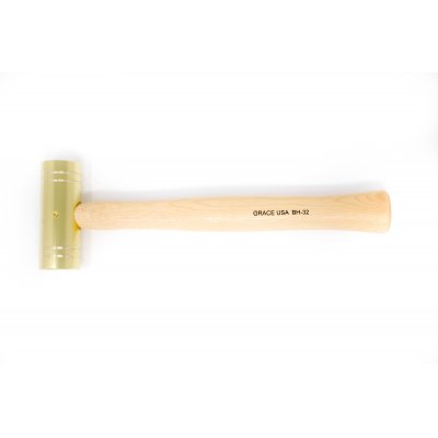 GRACE USA  32 Ounce Brass Hammer Hero