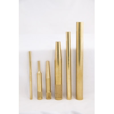 GRACE USA Sample Brass Punches - Military, Industrial, Mechanic Hero